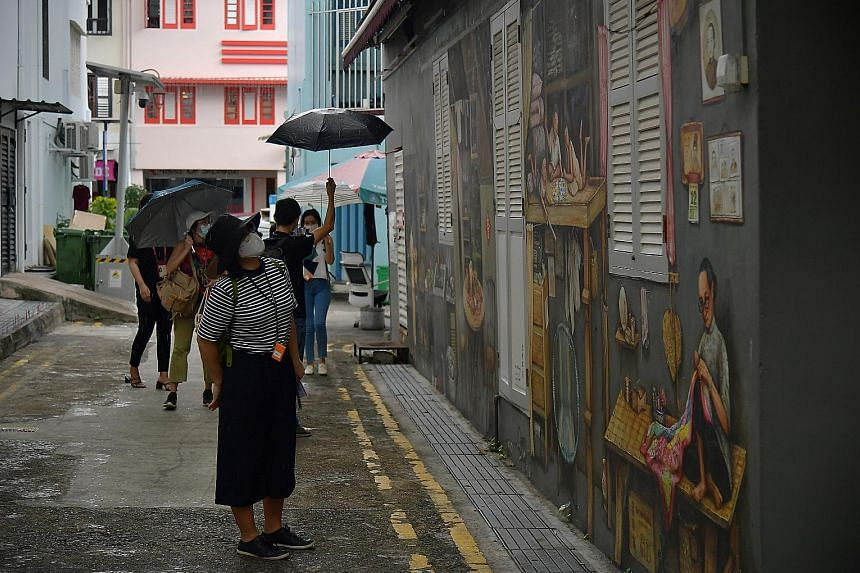 Take part in tour company Tribe's Chinatown Murders tour, where participants solve a murder mystery while learning about the area's rich history through wall murals and more.