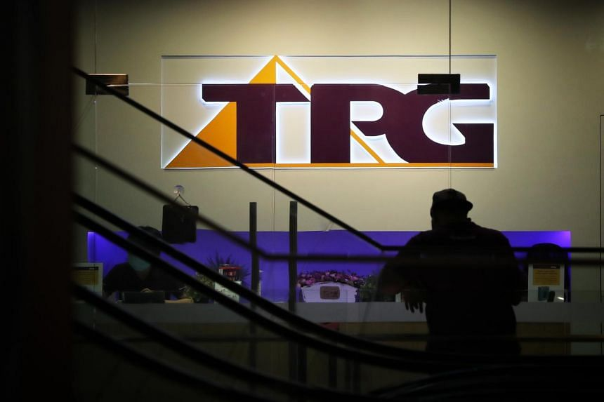 TPG Telecom at Orchard Central on April 29, 2020.