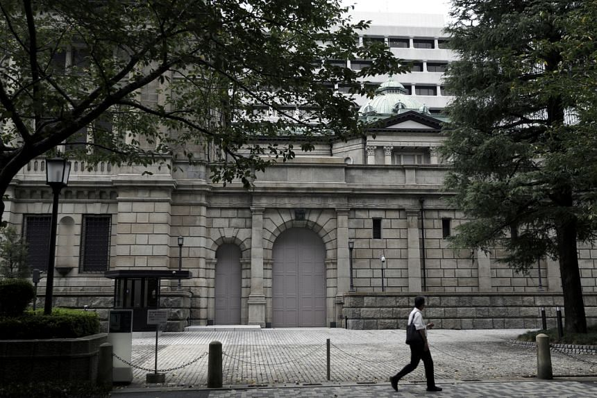 The Bank of Japan kept its key interest rate at -0.1 per cent.