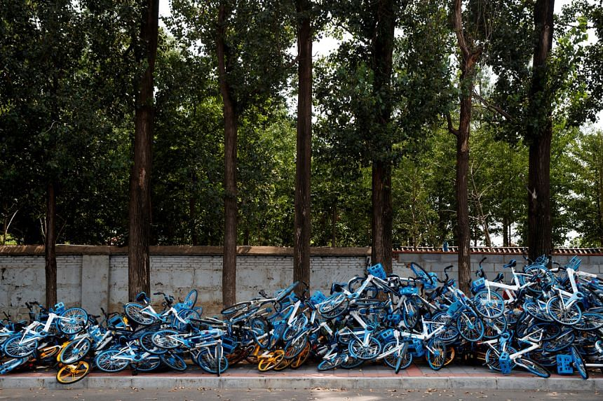 One government unit estimates there were as many as 20 million shared bikes in use in 2017.