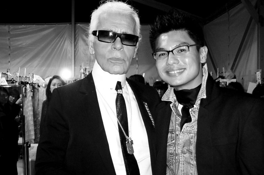 Kenneth Goh counts the many travel opportunities and interviewing fashion legend, the late Karl Lagerfeld, as some of his personal career highs.