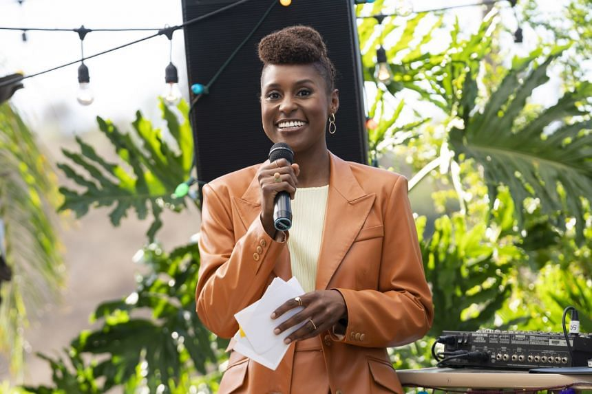 Record Emmy nominations for people of colour included nods for Issa Rae (above) for Insecure and Sandra Oh for Killing Eve.
