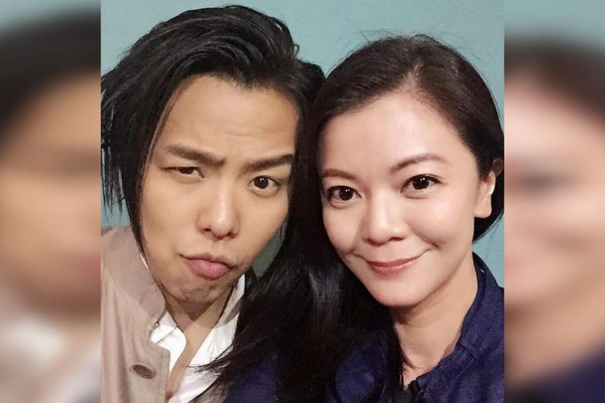 Michelle Chong said on Instagram that Alien Huang will forever be the first leading man in her life.