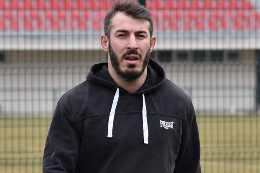Ramaz Kharazishvili (above) was shot in the leg following a dispute with the vice-president of the country's rugby union.