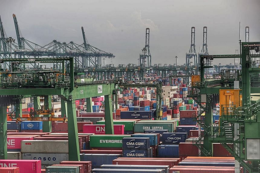 Singapore's non-oil domestic exports (Nodx) have now risen in six out of the eight months this year. Nodx to Singapore's top markets as a whole grew last month, with the largest contributors being China, the EU and the US.