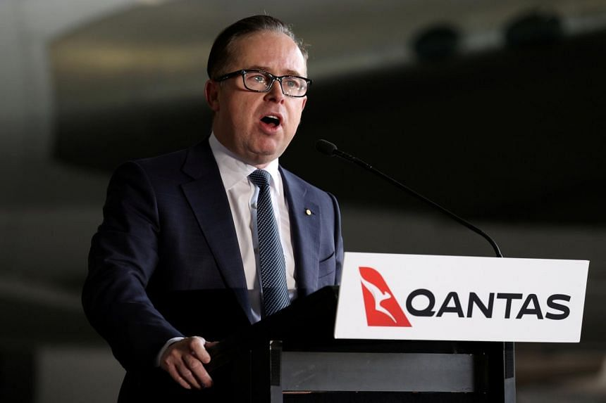 Qantas Airways chief executive officer Alan Joyce took no salary from April to July, before returning to 65 per cent of his base salary in August.