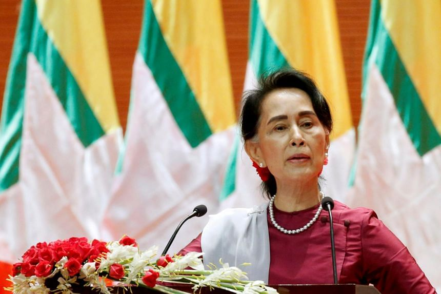 Myanmar leader Aung San Suu Kyi has said the outbreak can be contained with strict social distancing curbs.