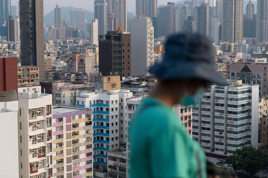 The Hong Kong economy, which contracted 1.2 per cent last year, is expected to shrink by 6.9 per cent this year.