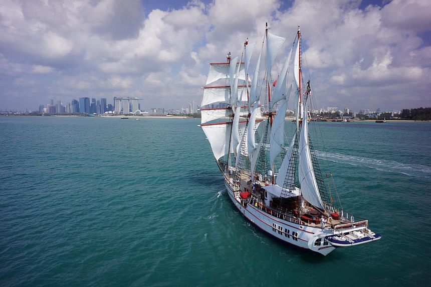 Luxury tall ship Royal Albatross has been seeing healthy demand since resuming dinner cruises in September.