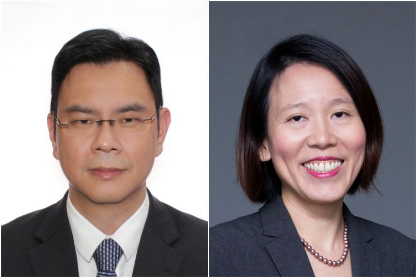 Mr Chia Der Jiun will be the Ministry of Manpower's new second permanent secretary, while Ms Lai Wei Lin will be the Ministry of Law's new permanent secretary.