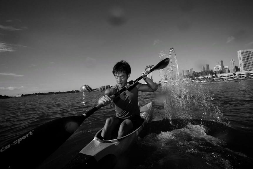 National sprint kayaker Brandon Ooi is looking at the Olympics next year and at a medal at the 2022 Asian Games.
