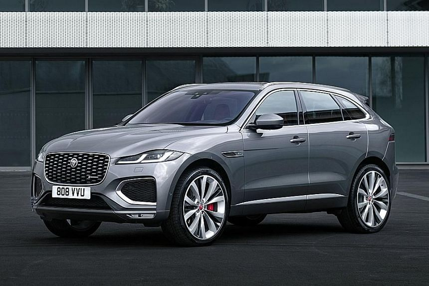 New Jaguar F-Pace to arrive next year