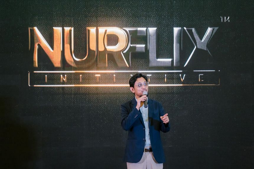 Nurflix CEO Syah Rizal Mohamed believes in providing appropriate content to help cultivate good moral character.