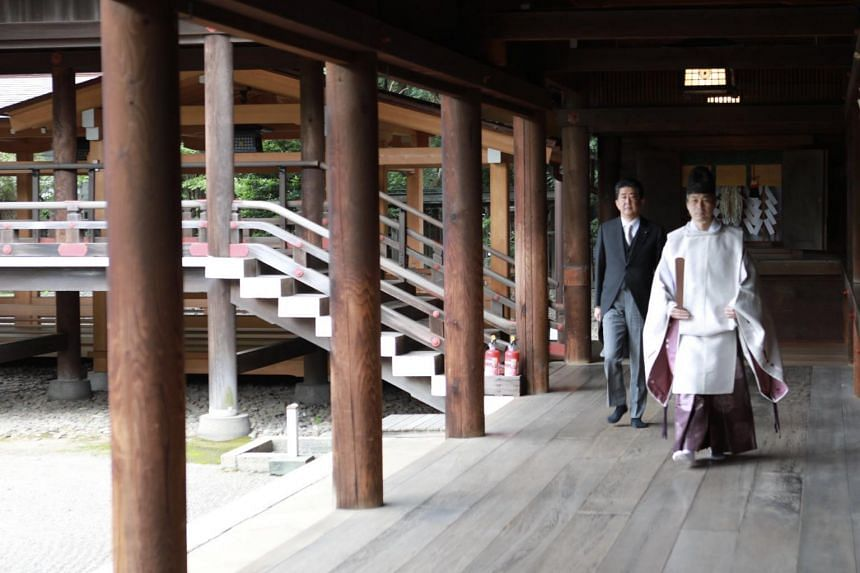 Former Japanese Prime Minister Shinzo Abe had only visited the shrine in person once during his last tenure as prime minister in 2013.