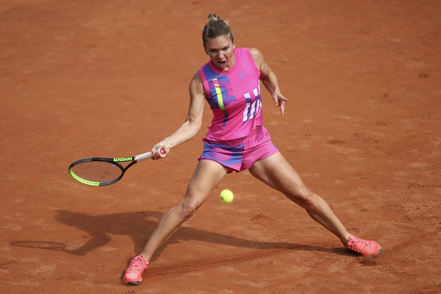 Halep reaches Rome semifinals as Putintseva retires