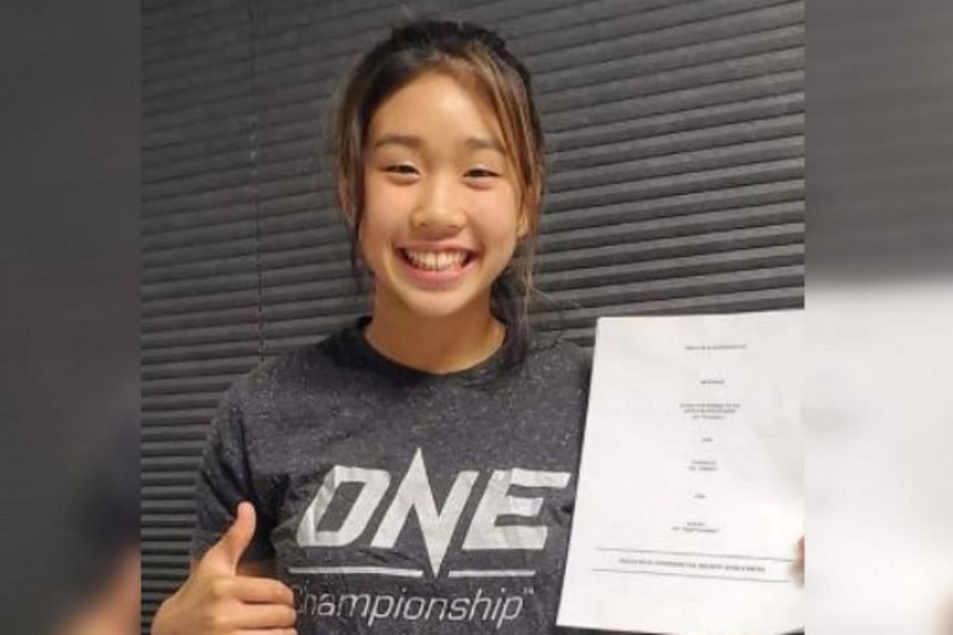16-year-old Victoria Lee is set to embark on her biggest challenge as a professional fighter after One Championship.