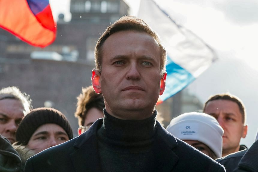 Alexei Navalny says he's recovering from poisoning