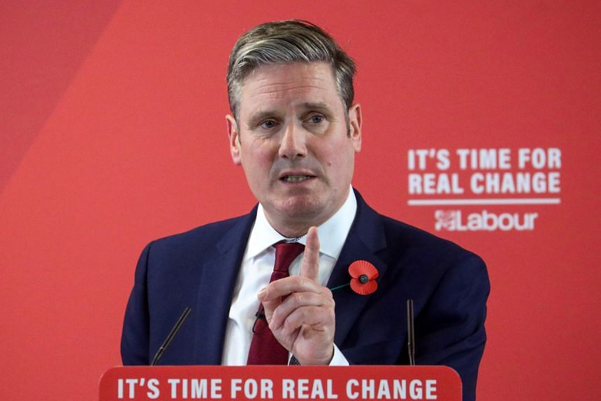 Keir Starmer has vowed to reunite the party.
