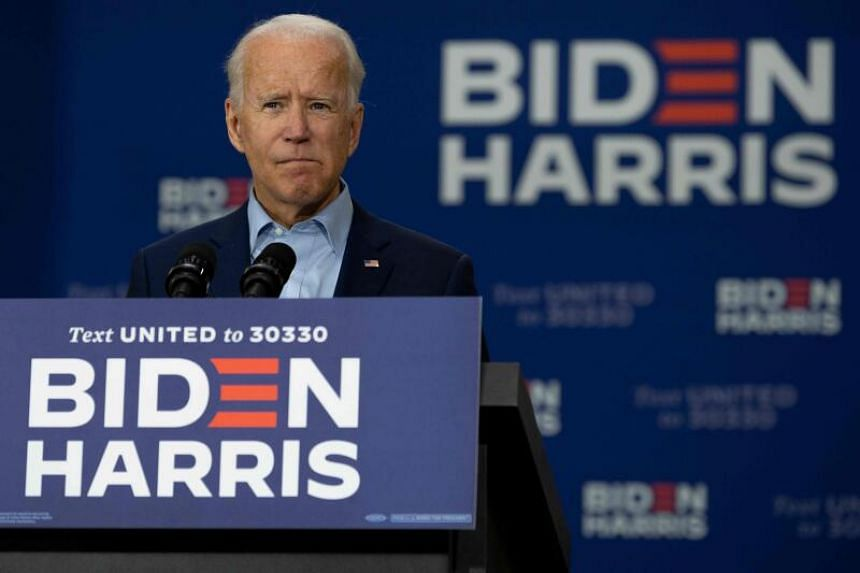 The Biden campaign had refrained from including a fundraising link in an email sent to supporters.
