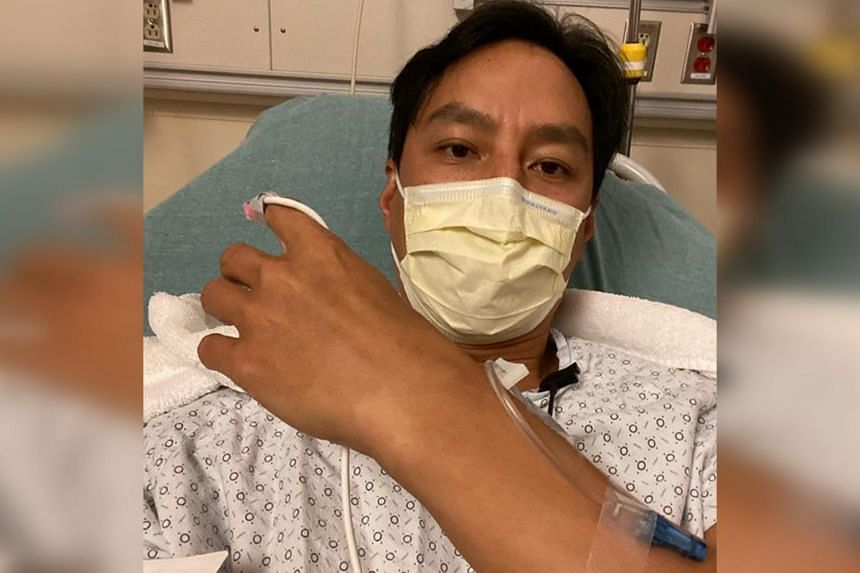 Daniel Wu suffered appendicitis in March 2019 but doctors could not get the appendix out. When his condition flared up on Sept 17, he hightailed it to the hospital where it was removed once and for all.
