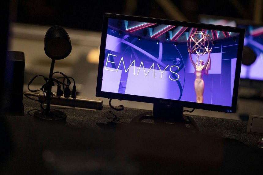 "Nominees for the 72nd Emmys are beaming in remotely from their homes for the ""virtual"" show."