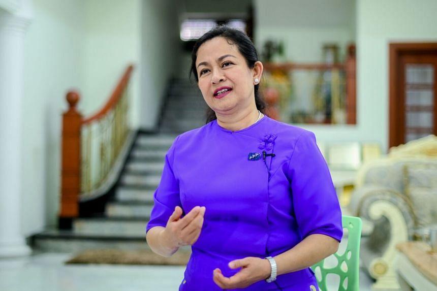 Ms Thet Thet Khine is still hoping to make her mark.