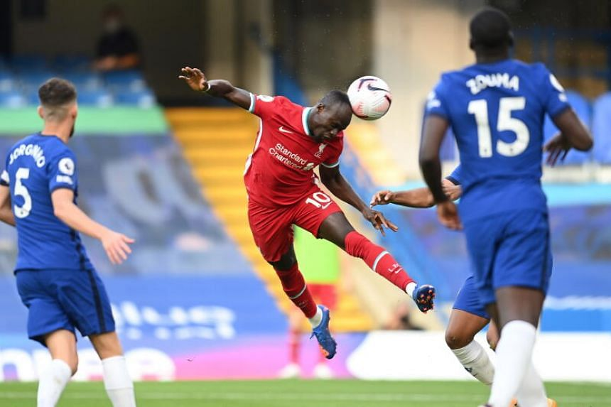 Mane brace guides Liverpool to 2-0 win over 10-man Chelsea