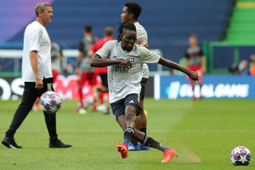 Bertrand Traore made 126 appearances for Lyon and scored 33 goals after his arrival from Chelsea in 2017.