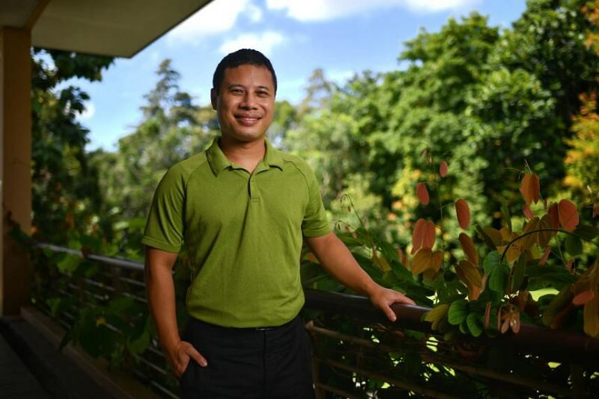 Minister of National Development Desmond Lee at the Botanic Gardens as he explains Singapore's new vision for a City in Nature in The Straits Times' Green Pulse Podcast series.