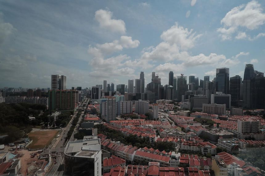 A view of Singapore's skyline on March 3, 2020.