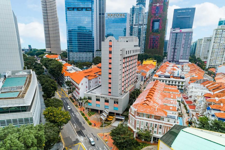 The Maxwell House site is within a few minutes' walk of the Tanjong Pagar and Chinatown MRT stations. The upcoming underground Maxwell MRT station on the Thomson-East Coast Line is expected to be completed in 2022. PHOTO: CUSHMAN & WAKEFIELD