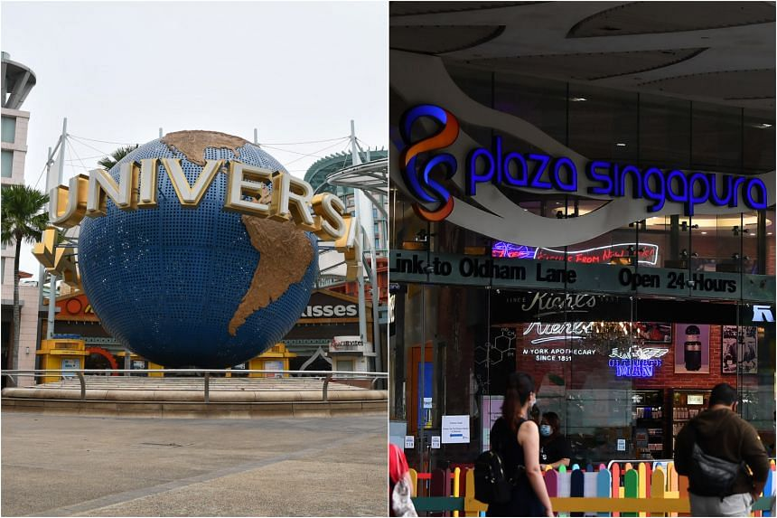 Universal Studios Singapore and Plaza Singapura were among places visited by Covid-19 patients while they were still infectious.