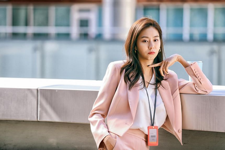 Uee stars in one of the episodes of the ongoing South Korean sci-fi anthology series SF8.