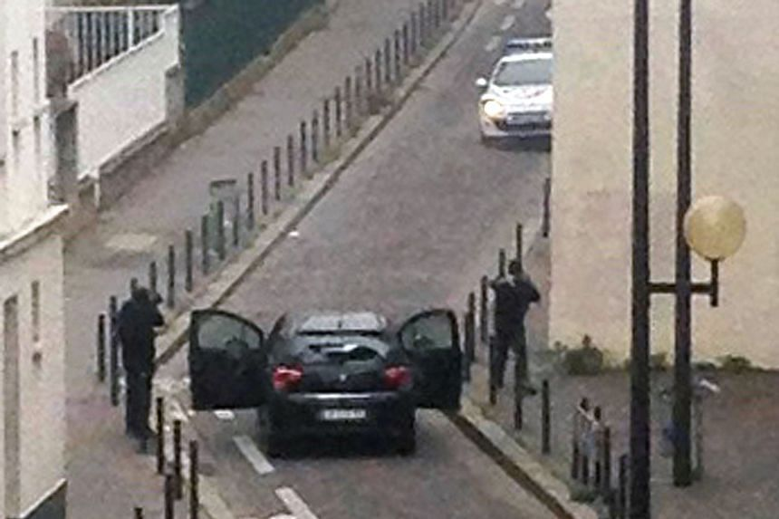 Twelve people were killed when brothers Said and Cherif Kouachi went on a gun rampage at Charlie Hebdo's office.