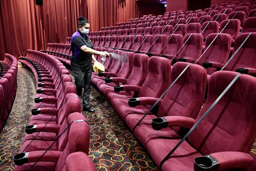 Restrictions on cinema hall capacity are among a range of measures set to be eased.