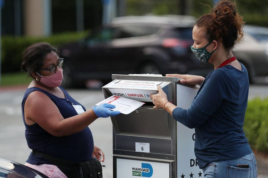 Voting by mail has become a divisive issue in the US.