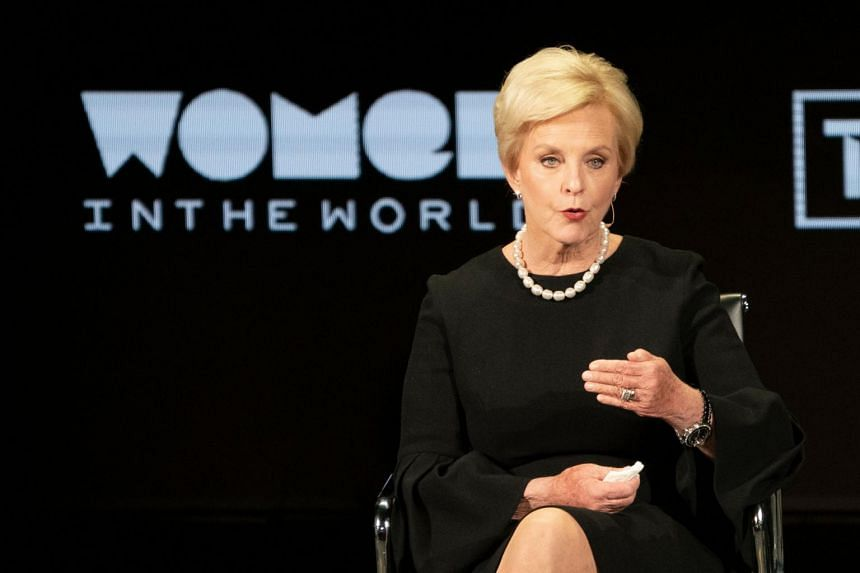 Mrs Cindy McCain said she was planning to actively help Mr Biden.