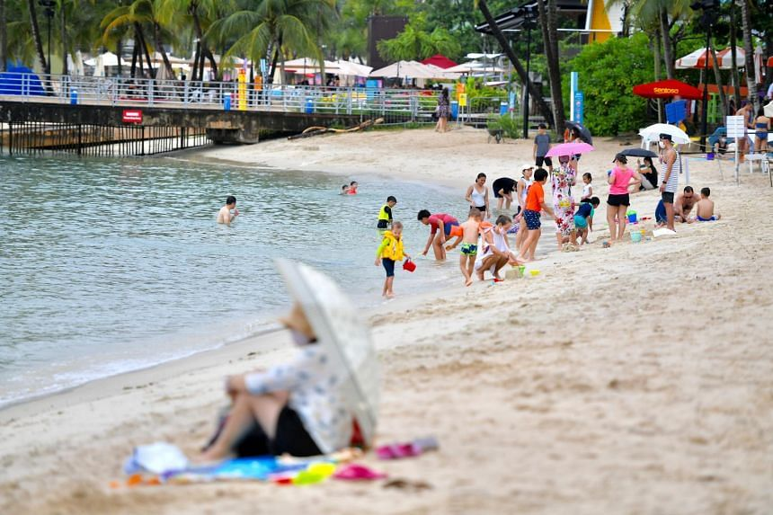 From Oct 17, people who want to visit the beaches in Sentosa during peak periods will have to make reservations first.
