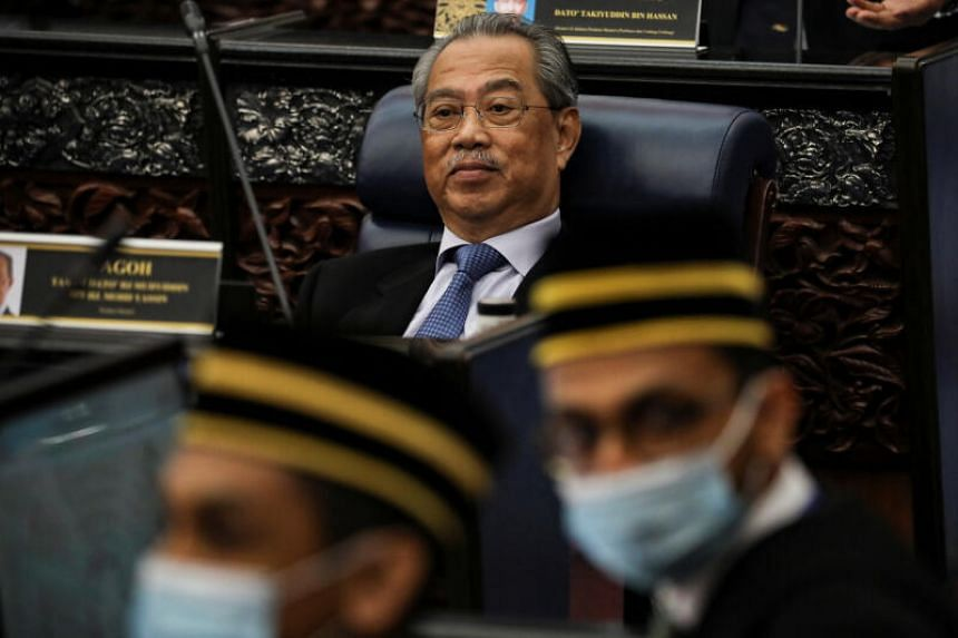 Prime Minister Muhyiddin Yassin called on Malaysians to be calm and said the issue will be handled carefully using the law and the federal Constitution.