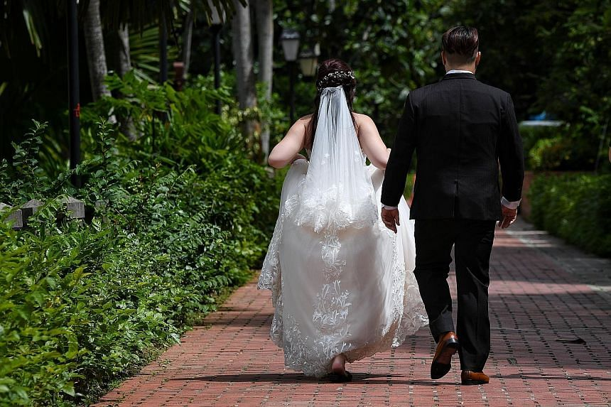 """The Ministry of Health said the relaxation of rules is aimed at facilitating marriages that may have been postponed or put on hold. """"Given the dynamic (nature) of the Covid-19 situation, we encourage couples who are ready to proceed with their weddin"""