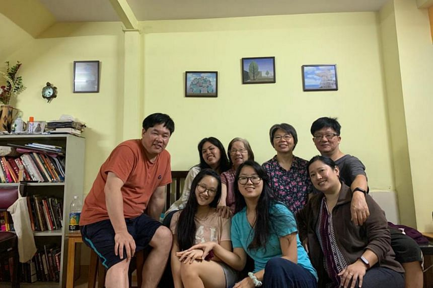 The Liang family members from three cities quarantined together in Bangalore to beat Covid-19.