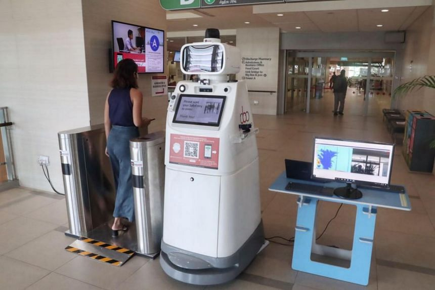 The robots will be deployed at critical locations within the hospitals that need enhanced surveillance or restricted access.