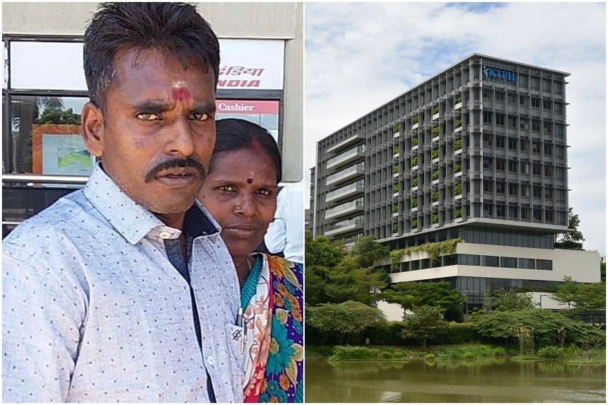 Mr Alagu Periyakarrupan was found lying motionless without a pulse at an outdoor staircase landing on the third floor at KTPH, days after he was admitted for a Covid-19 infection.