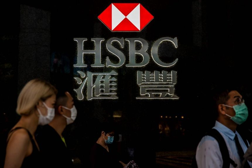 HSBC's Hong Kong shares lost as much as 2.6 per cent as of 11:15 am on Sept 24.