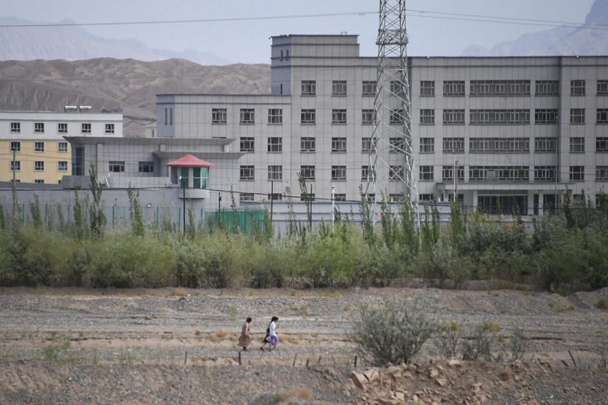 """China has defended the camps as """"vocational education centres"""" intended to """"purge ideological diseases,"""" including terrorism and religious extremism."""