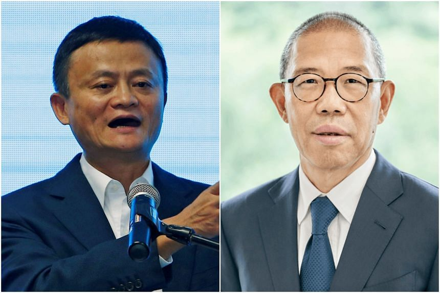 Nongfu Spring founder Zhong Shanshan's (right) net worth reached US$58.7 billion on Sept 23, US$2 billion more than Jack Ma's.