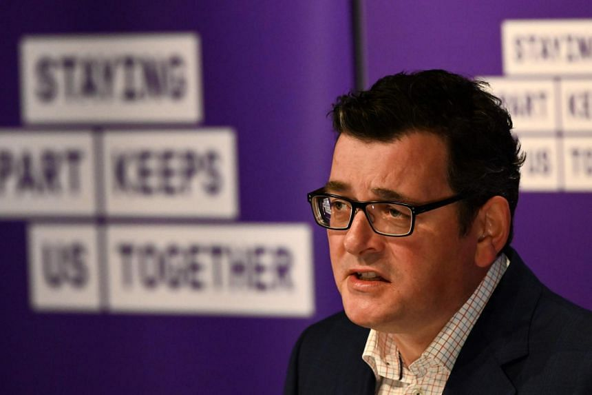 Mr Daniel Andrews and his Labor government have been under mounting pressure over security failures at quarantine hotels.