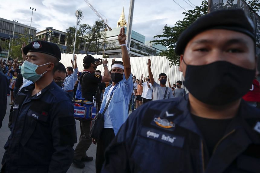 The protests are the biggest challenge to the military and palace-dominated establishment since Mr Prayut took power.