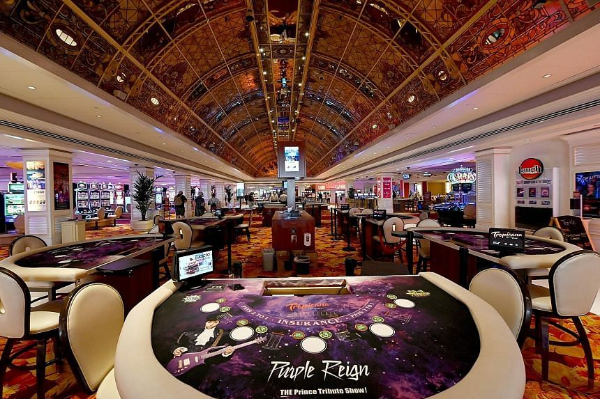 A turnaround for casinos, such as Tropicana Las Vegas (above), is not on the cards, with the crucial senior-citizen market dented by the pandemic.