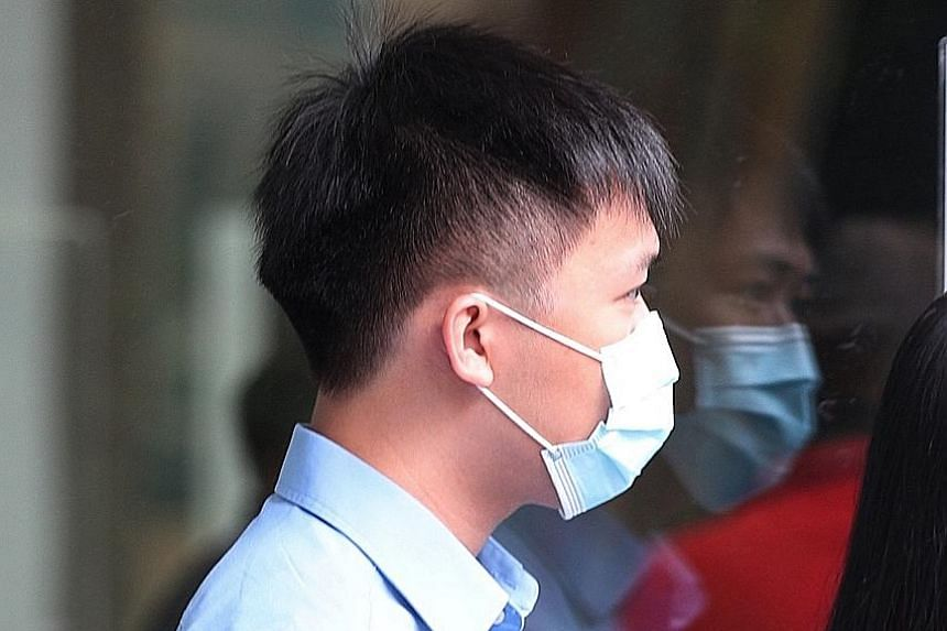 Shaun Ho Yan Liang was also found to have 106 obscene and pornographic videos on his laptop.